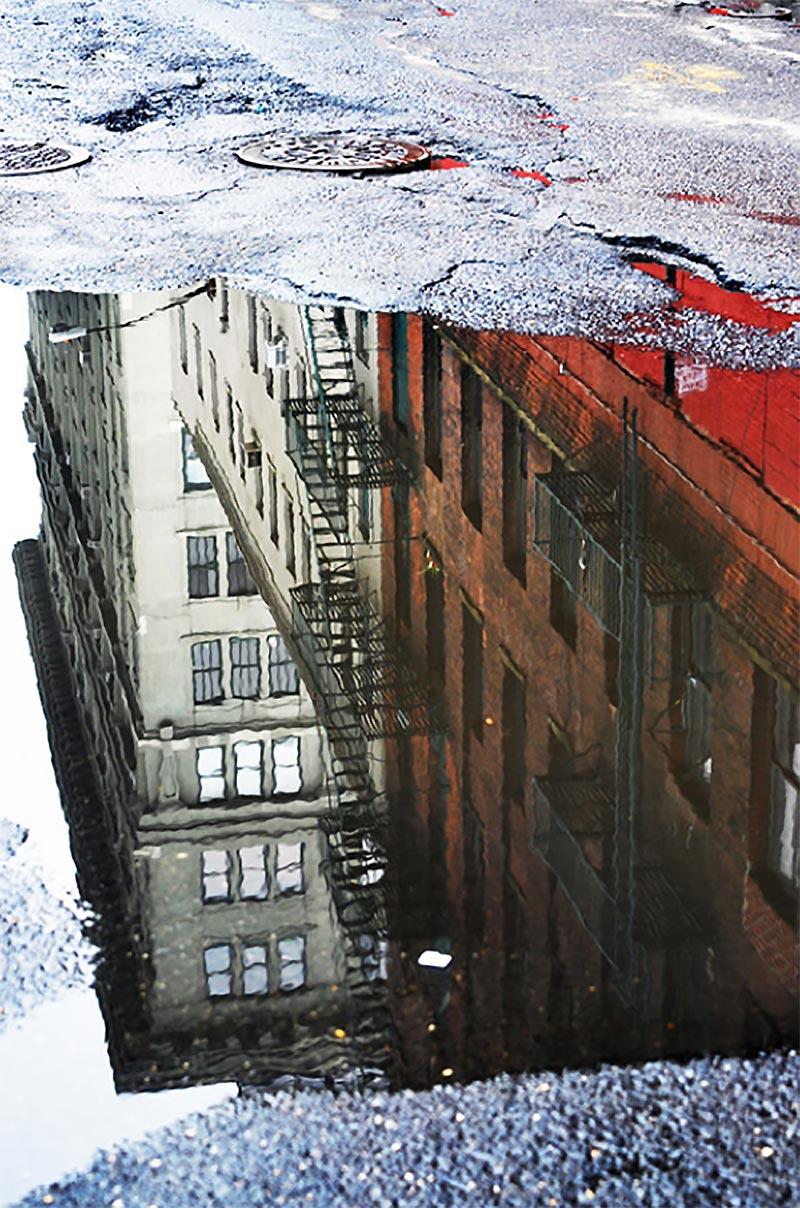 Street Reflection - Série New-York