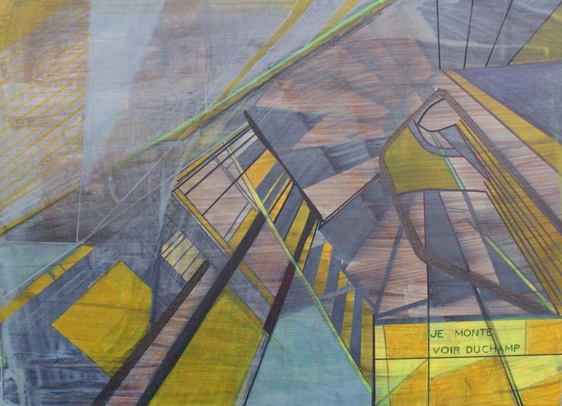 Je monte voir Duchamp