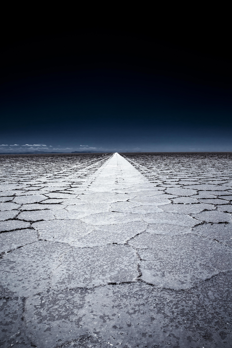Le Salar d'Uyuni - Bolivie - Photo de Françoise Gaujour