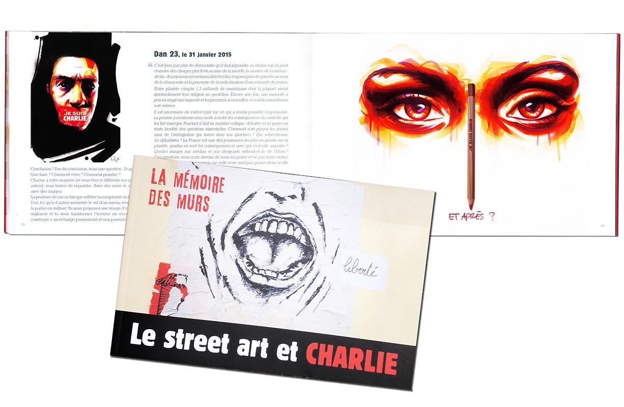 Le street Art yet Charlie