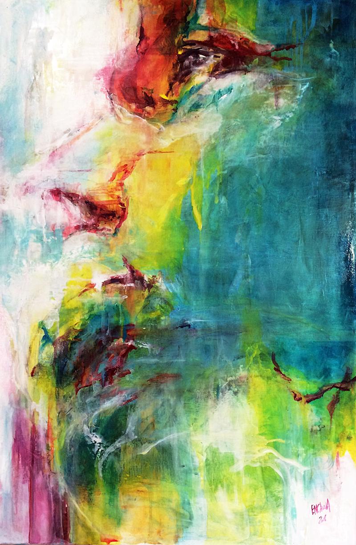 Sacha - 2016 - Huile sur toile - 61 x 91 cm