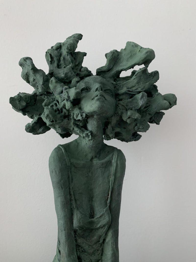 Valerie Hadida - La tête dans les nuages - détail