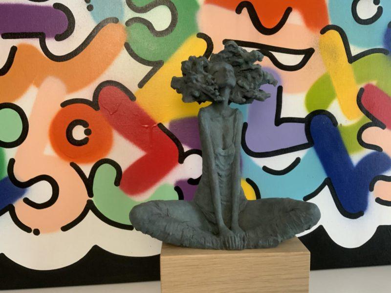 Valérie Hadida - Nouveau Jour - Bronze - 33 x 28 x 13 cm