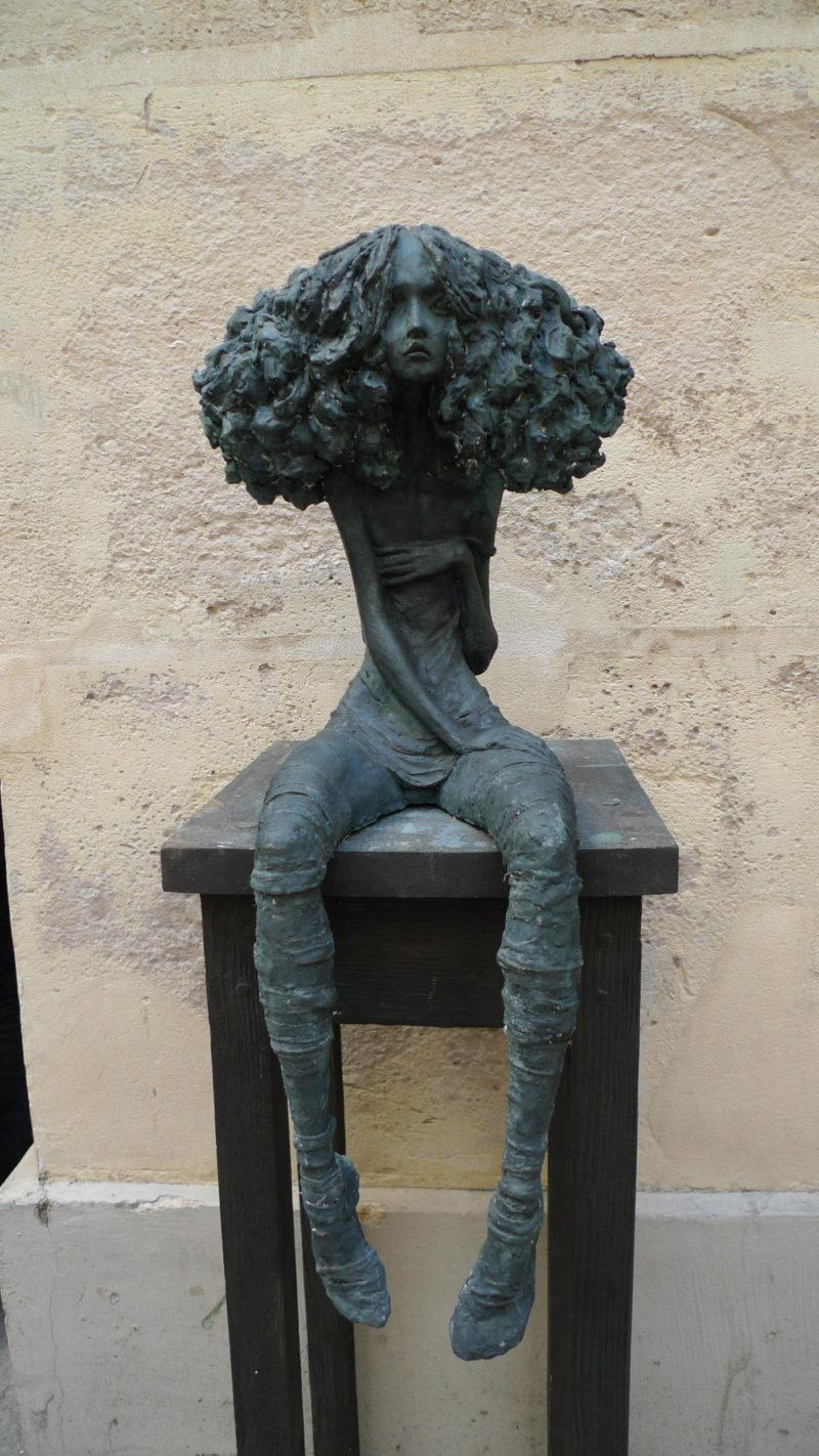Valérie Hadida - Candide - Bronze - 75 cm