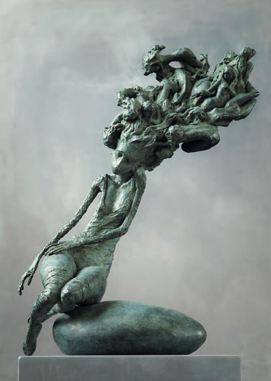 Nocturna - Bronze - 64 x 43 x 20 cm