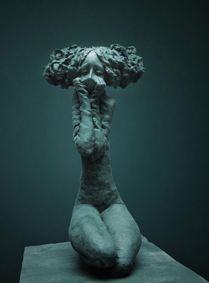 Valérie Hadida - Le parfum - Bronze - 52 x 28 x 25 cm