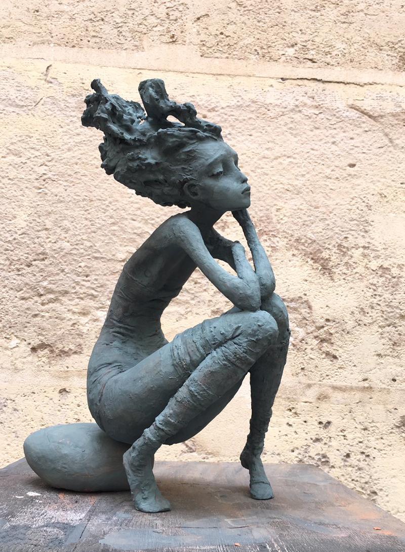 Valérie Hadida - Femme ô galet - sans nom 2