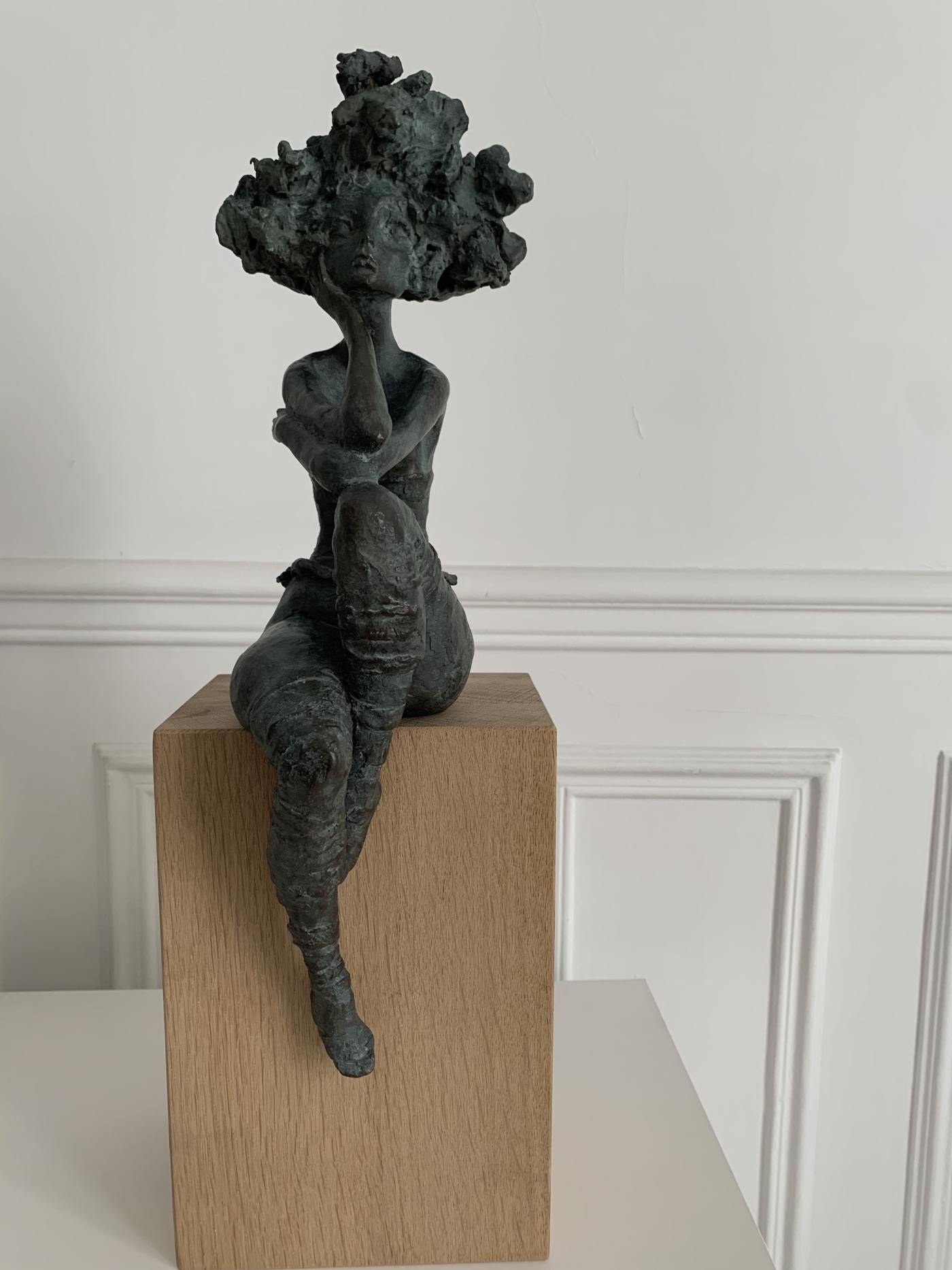 Valérie Hadida - Petite Margot - Bronze - 38 x 12 x 15 cm