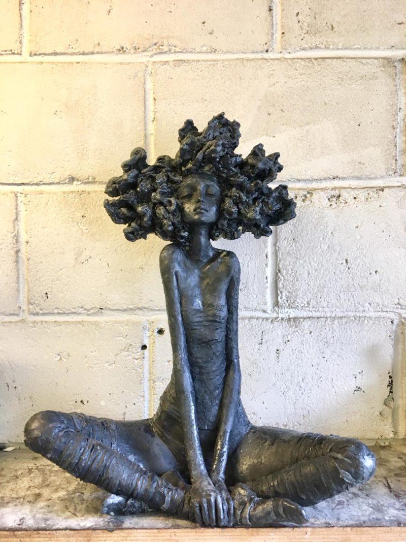 Valérie Hadida - Renaissance - Bronze - 2019 - 54 x 42 x 22 cm