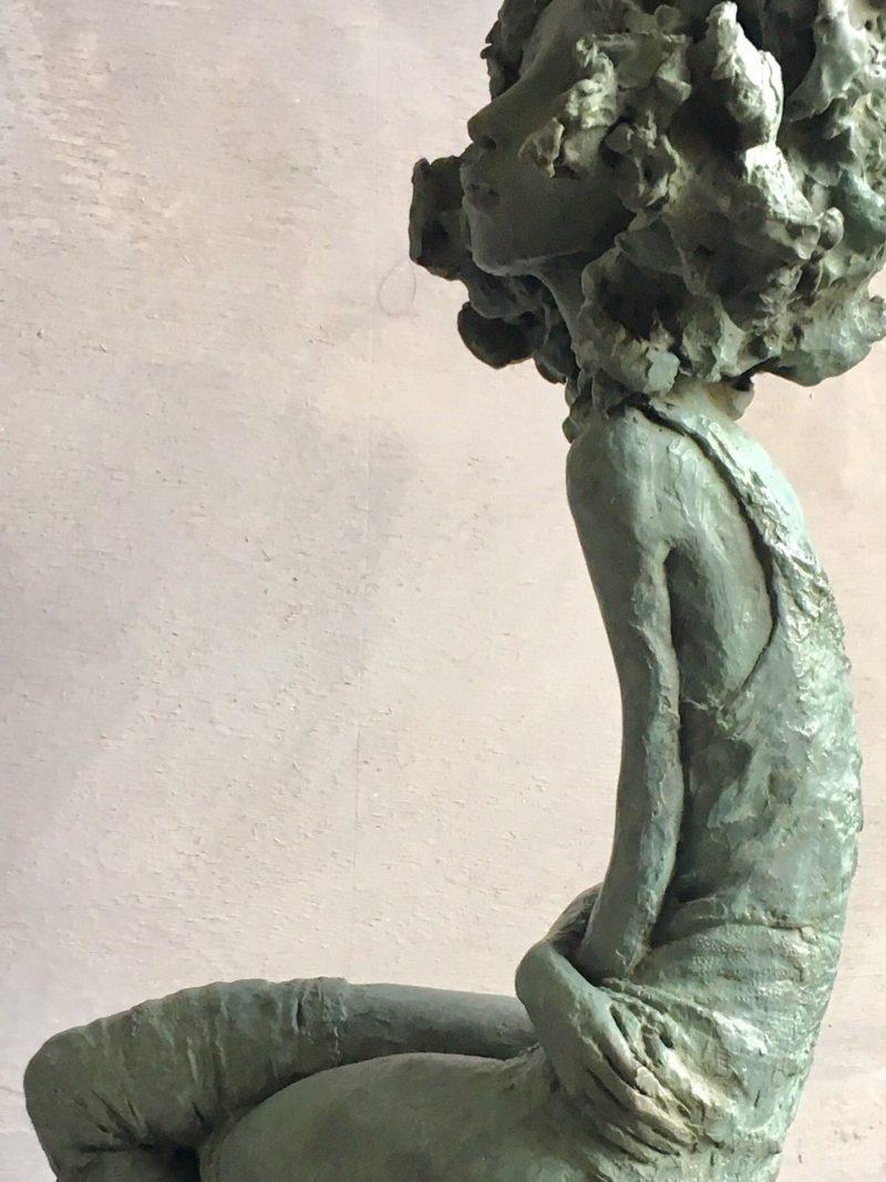 Valérie Hadida - Le départ- 41 x 13 x17 cm