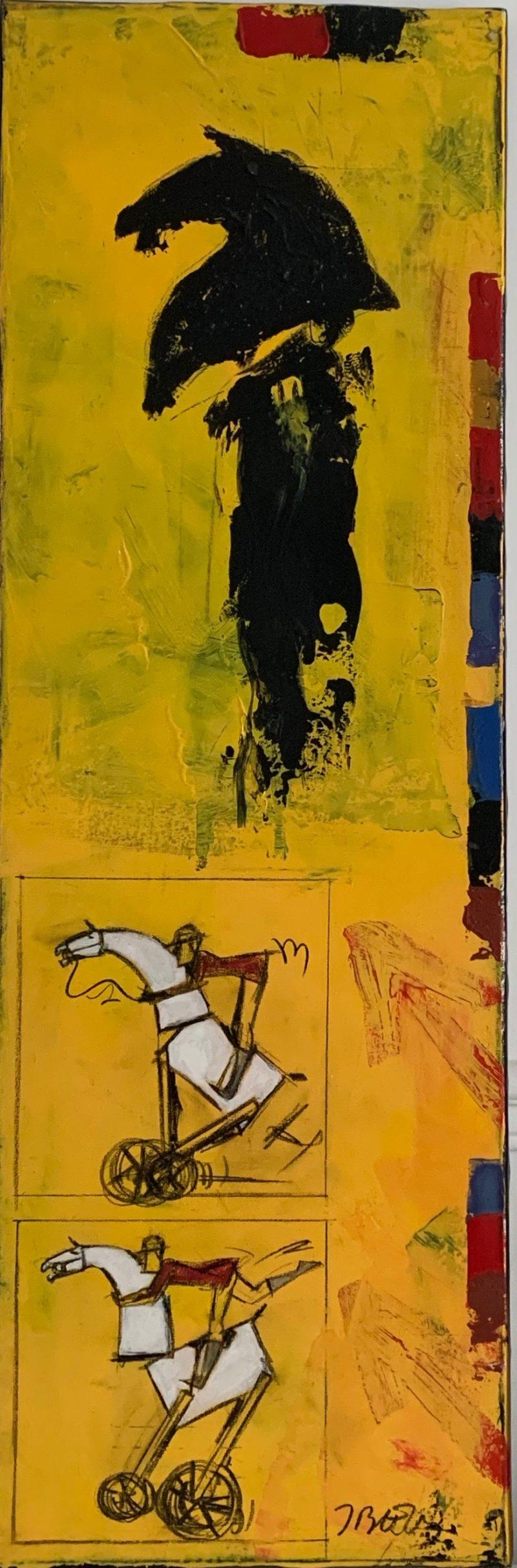 Jacques Blézot - Bande dessinée - 90 x 30 cm
