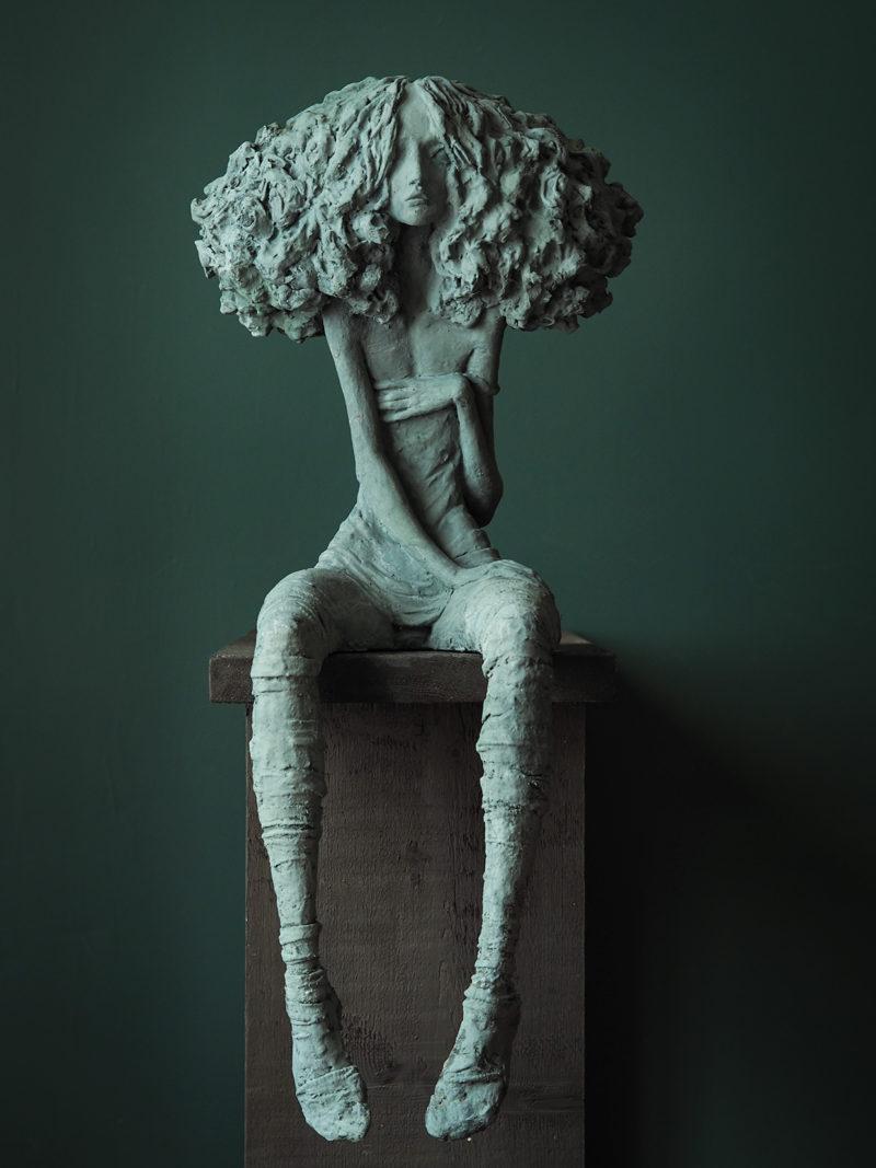 Valérie Hadida - Candide - 76 x 38 x 25 cm  - Bronze - 2011