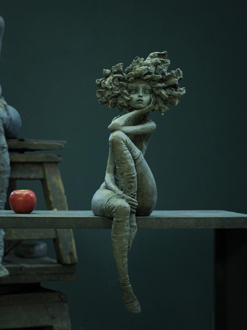 Valérie Hadida - Nouvel amour - 75 x 30 x 30 cm - Bronze - 2018