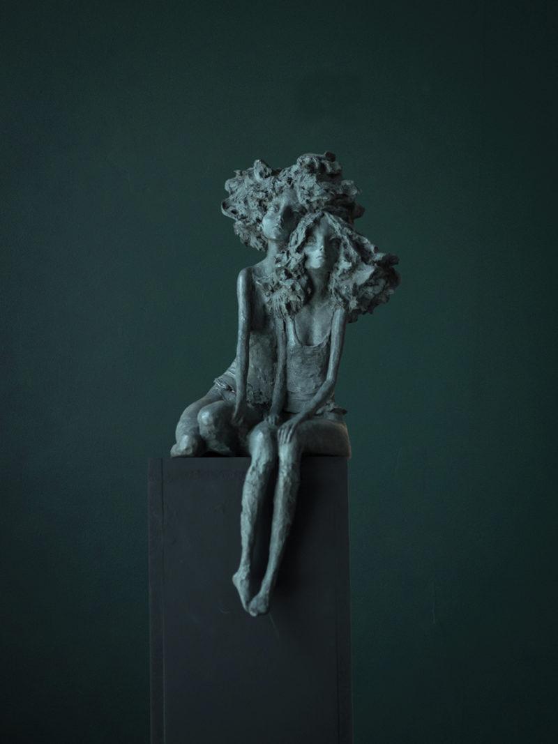 Valérie Hadida - Les copines - 42 x 16 x 14 cm - Bronze - 2018