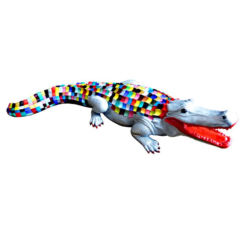 Crocodile-120 x 4 0x 30 cm