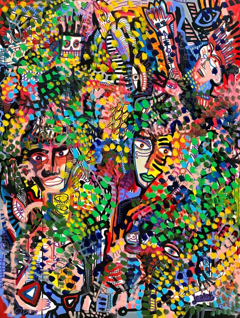 Julien Calot - Madness #2 - 130 x 98 cm