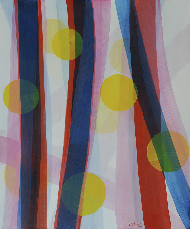 Ulrike Nagel - Sans titre 15 - Acrylique sur toile - 2018 - 180 x 150 cm