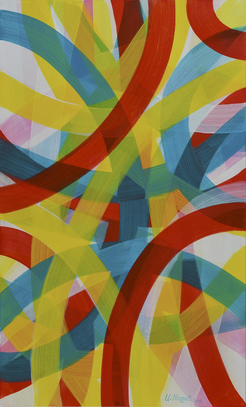 Ulrike Nagel - Sans titre 12 - Acrylique sur toile - 2018 - 150 x 100 cm