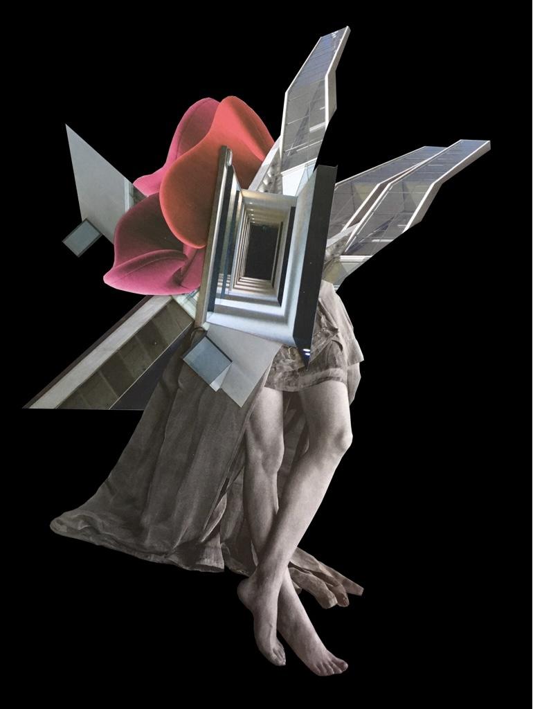 Anne-Laure Maison -Hole - 42 x32 x 3 cm