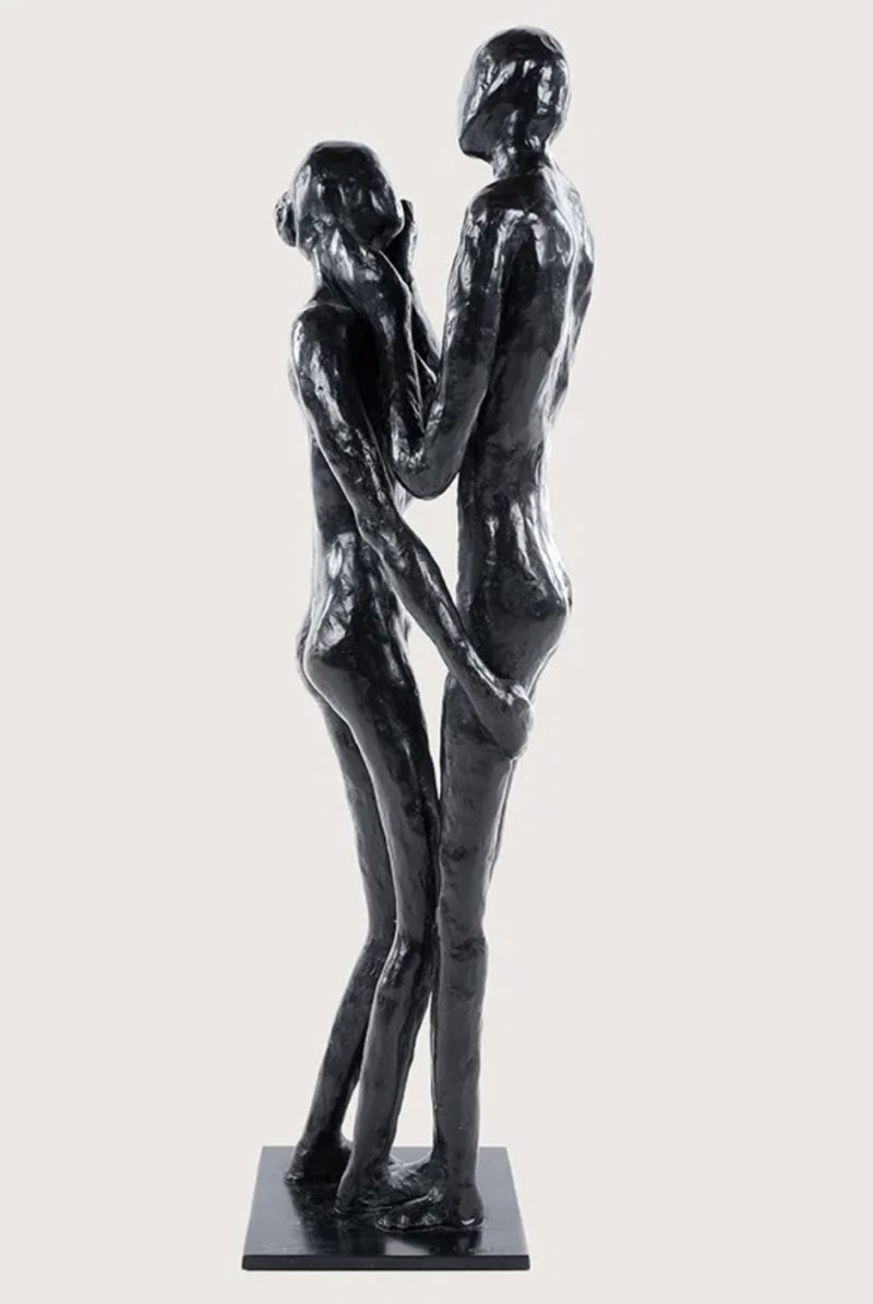Isabelle Healy - La sphère des possibles - Bronze - 65 cm, socle, 13 x 13 cm
